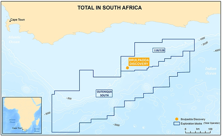 Total Makes Significant Discovery And Opens A New Petroleum Province Offshore South Africa