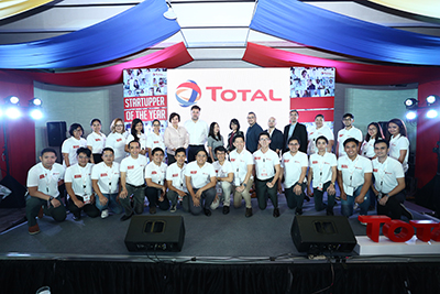 Startupper of the Year by Total - Group Photo 1