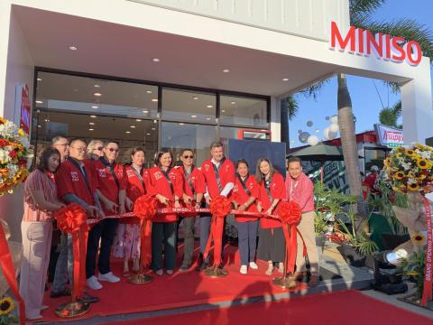 Grand Opening of Miniso in TOTAL SLEX Northbound