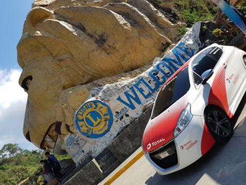 Catch the Excellium car and win special prizes from TOTAL
