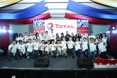 Startupper of the Year by Total - Group Photo 2